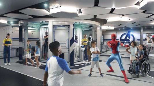 Descubre todos los detalles de Disney Wish Cruise, el nuevo integrante de la familia - foto-4-disney-wish-cruise-el-nuevo-barco-de-la-familia-disney-marvel-super-hero-academy