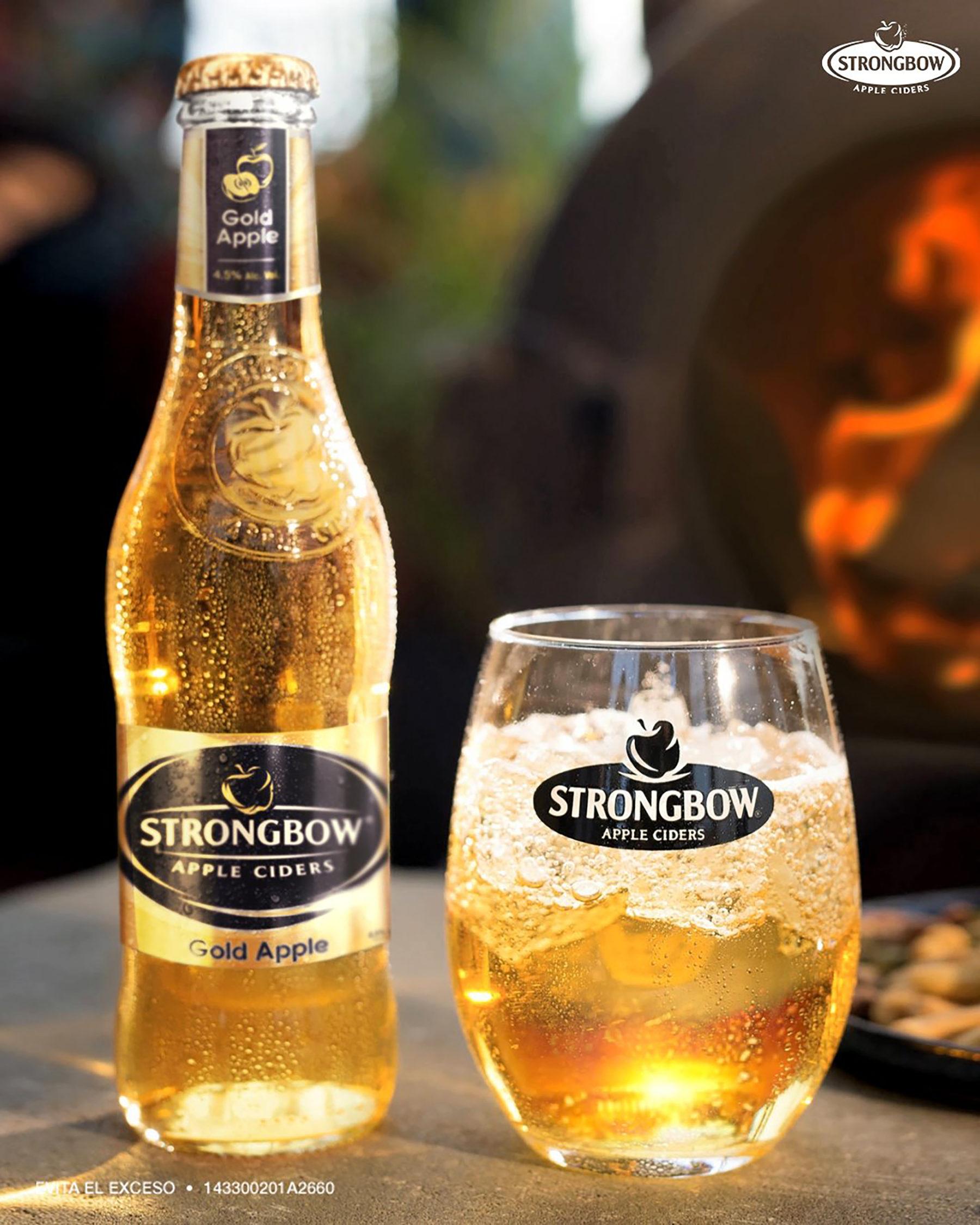 Strongbow: Un cider lleno de sabor