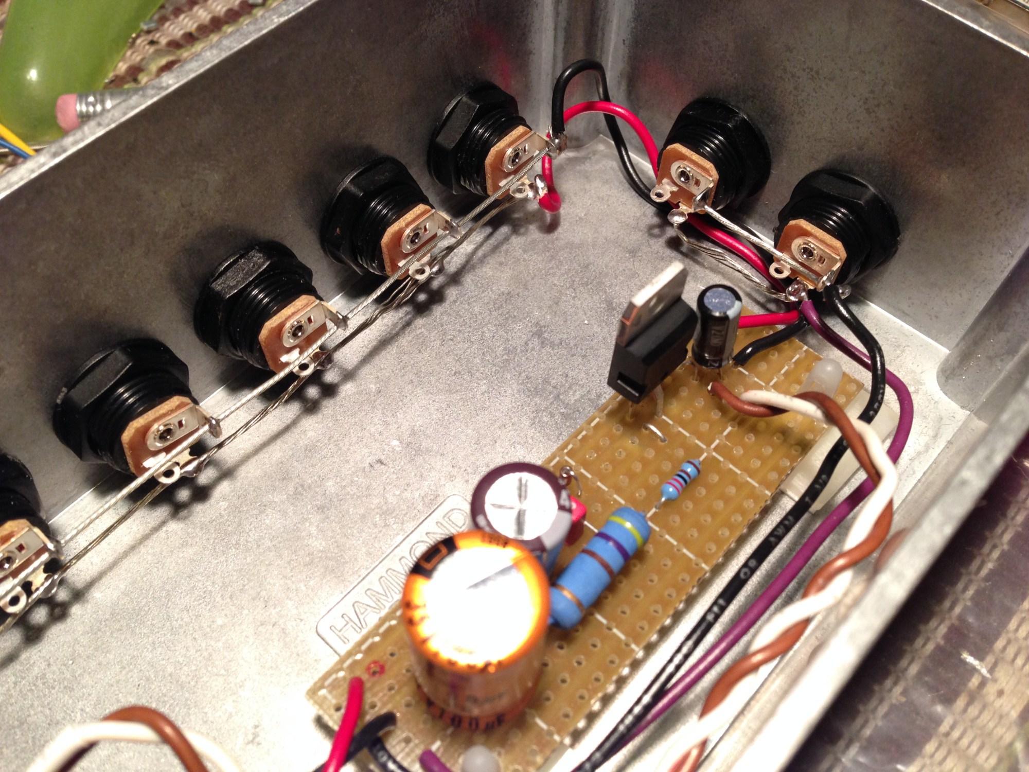 hight resolution of gut shot of 9v 18v power supply