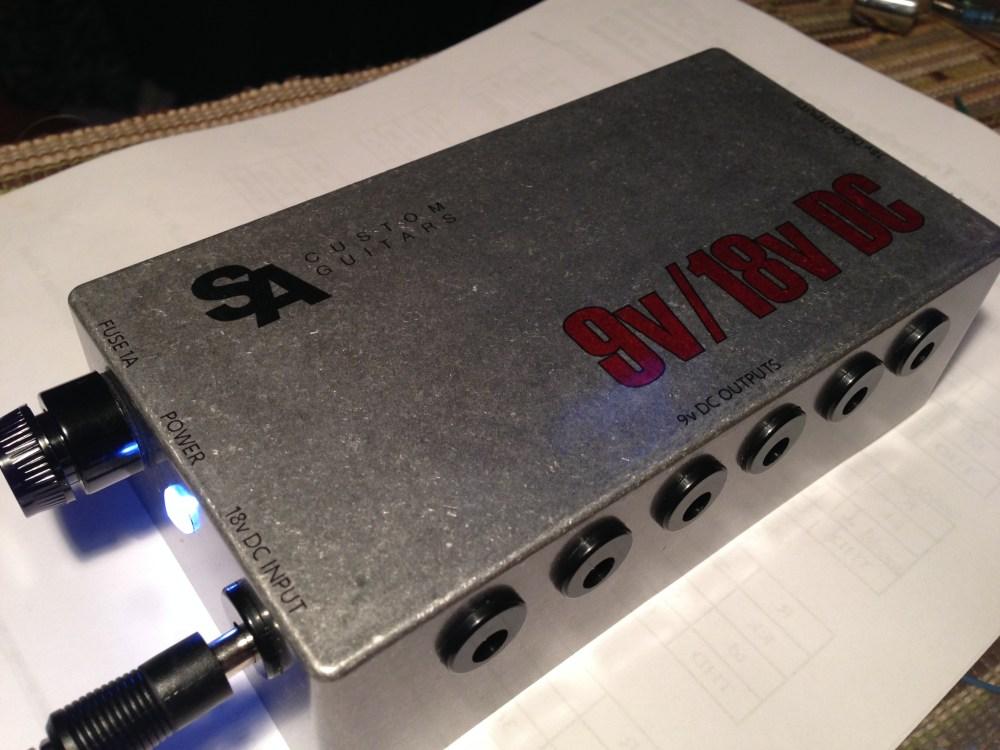 medium resolution of the finished 9v 18v power supply