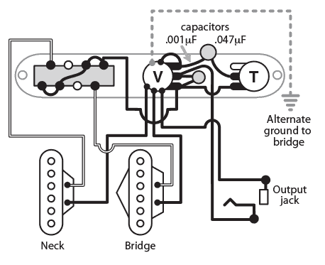 Fender Noiseless Telecaster Pickups Wiring Diagram : 50