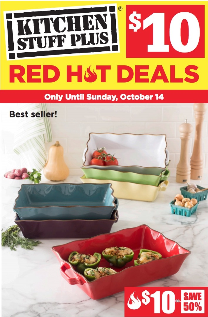 kitchen stuff on sale pop up electrical outlet counter plus canada red hot 10 deals save 60 contour digital bathroom scale more flyer s offers