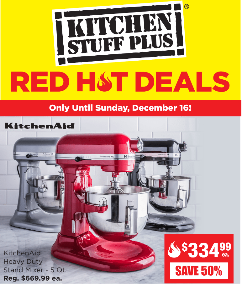 kitchen stuff on sale gooseneck faucet plus canada red hot save 67 cuisinart convection toaser oven