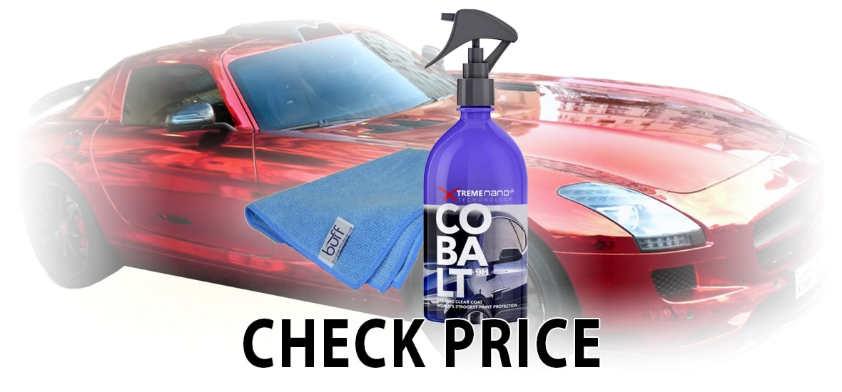 Cobalt Ceramic CAR Coating 9H Nano Scratch Resistant Spray Paint Protection KIT