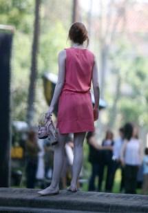 Emma Stone Barefoot