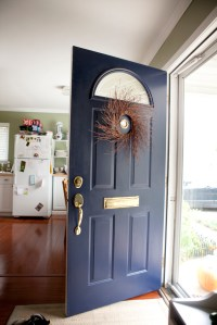 sherwin williams naval | Colored Front Door | Pinterest ...