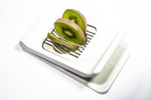 Kiwi, geschnitten