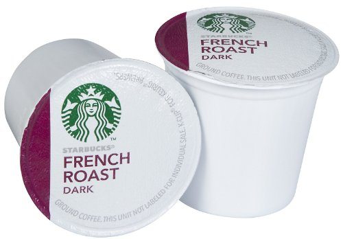 Starbucks French Roast Dark, K-Cup Portion Pack for Keurig K-Cup Brewers, 54-Count