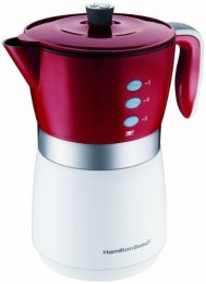 Hamilton Beach 43700 5-Cup Personal Coffee Brewer, Red