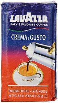 Lavazza Crema e Gusto – Ground Coffee, 8.8-Ounce Bricks (Pack of 4)