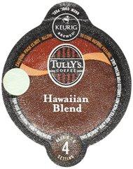 Tully's Hawaiian Blend Coffee Keurig Vue Portion Packs, 16 Count