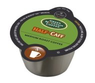 Green Mountain Coffee Half-Caff, Vue Packs for Keurig Vue Brewers (16 Count)