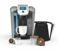 Keurig 2.0 Coffee & Tea Brewer Maker K560 – Bonus Set Includes 32oz Carafe + 60 K-Cups + 4 K-Carafe Packs + Water Filter Handle&