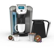 Keurig 2.0 Coffee & Tea Brewer Maker K560 – Bonus Set Includes 32oz Carafe + 60 K-Cups + 4 K-Carafe Packs + Water Filter Handle&
