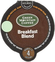 Green Mountain Coffee Breakfast Blend, Vue Cup Portion Pack for Keurig Vue Brewing Systems, 16 Count