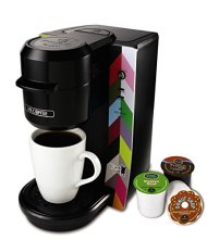 Mr. Coffee BVMC-KG2FB Single Serve Coffee Maker, French Bull Design, Multicolored