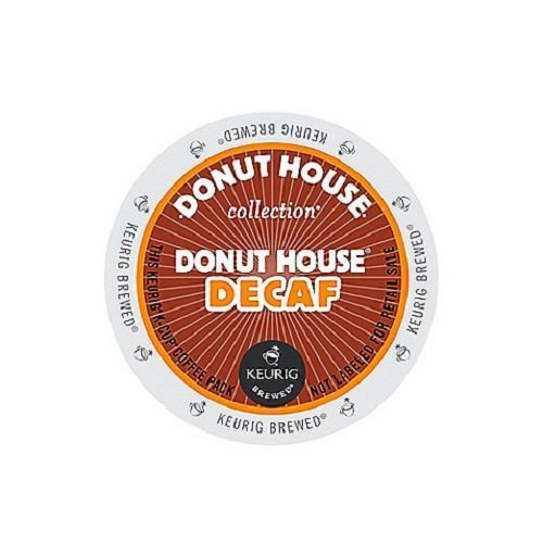 Donut House Collection Donut House Decaf, K-Cup Portion Count for Keurig K-Cup Brewers, 24-Count