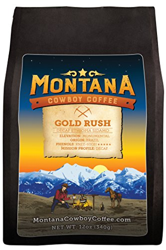 Montana Cowboy Coffee – GOLD RUSH, Whole Bean 12oz