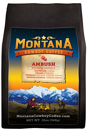 Montana Cowboy Coffee – AMBUSH, Whole Bean 12oz