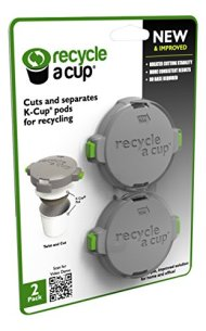 Medelco Recycle A Cup Cutter for K-Cup Pods, Gray