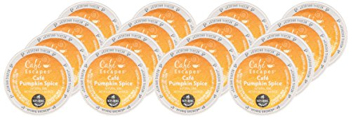 Keurig Cafe Escapes Pumpkin Spice Coffee K-Cups 16 ct