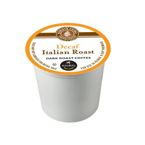 Barista Prima Decaf Coffee, Italian Roast, 120 Count