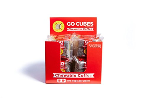 Go Cubes Chewable Coffee – Box of 20 X 4-packs