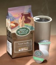 Green Mountain Coffee French Vanilla Ground – 12 Ounces