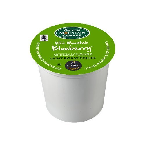 Green Mountain Wild Mountain Blueberry, K-Cup Portion Pack for Keurig K-Cup Brewers, 72 Count