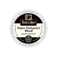 Peet's Coffee & Tea Coffee Major Dickason's Blend K-Cup Portion Pack for Keurig K-Cup Brewers, 22 Count
