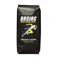 Dosiac® – Ground Coffee for People Engaged in Active Lifestyle And Other Sports – Improved Performance and Higher Energy Levels 100% Organic Arabica Coffee and Coffee Beans