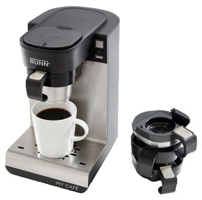 Bunn-O-Matic MCU My Cafe Single-Cup Brewer, 4 Coffee Machines-In-1 – Quantity 2