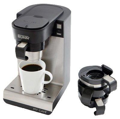 Bunn-O-Matic MCU My Cafe Single-Cup Brewer, 4 Coffee Machines-In-1 – Quantity 2