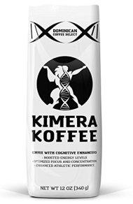 Kimera Koffee High Altitude Single Estate Coffee Infused with Nootropics (Kimera Blend, 12oz)