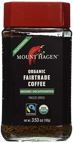 Mount Hagen Organic Coffee -Cafe Decaffeinated — 3.53 oz