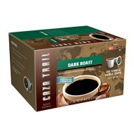 Caza Trail Coffee, Dark Roast, 100 Single Serve Cups
