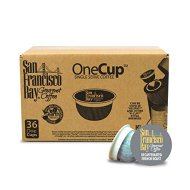 San Francisco Bay OneCup, Decaf French Roast, 36 Single Serve Coffees
