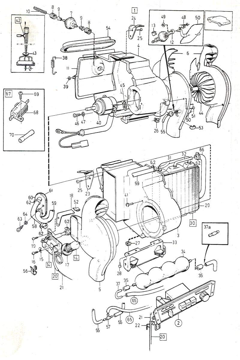 Cooling System Diagram For 2005 Volvo S40, Cooling, Free