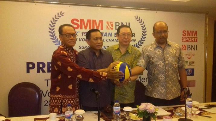 Indonesia Gabung Grup A pada Kejuaraan Asia Voli Putra