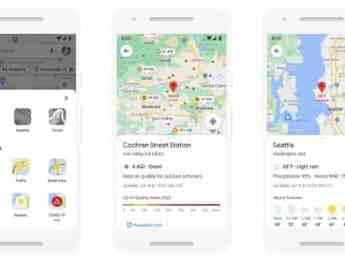 Team Google Maps Akan Tampilkan Kualitas Udara dan Cuaca
