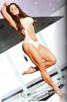 TRISH STRATUS in Inside Fitness Magazine