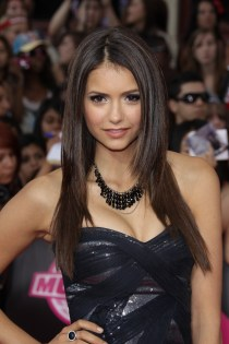 TORONTO, ON - JUNE 20: Actress Nina Dobrev arrives on the red carpet of the 21st Annual MuchMusic Video Awards at the MuchMusic HQ on June 20, 2010 in Toronto, Canada. (Photo by George Pimentel/WireImage)