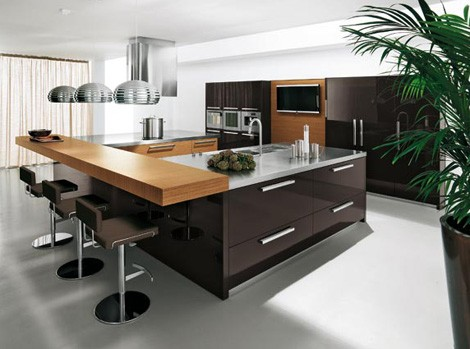 Urban kitchen design with elegant and modern style from