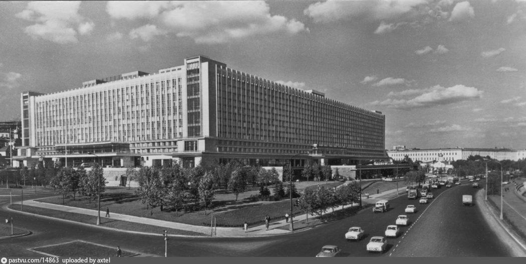 Гостиница Россия в Москве история