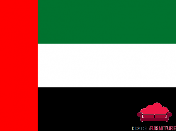 UAE Flags for National Day  Flag day in Dubai Hotel