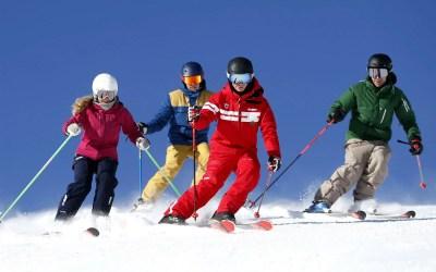 Les joies des sports d'hiver