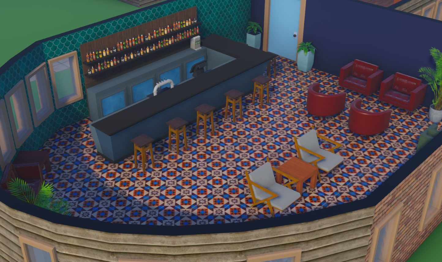 Hotel Simulator Bar