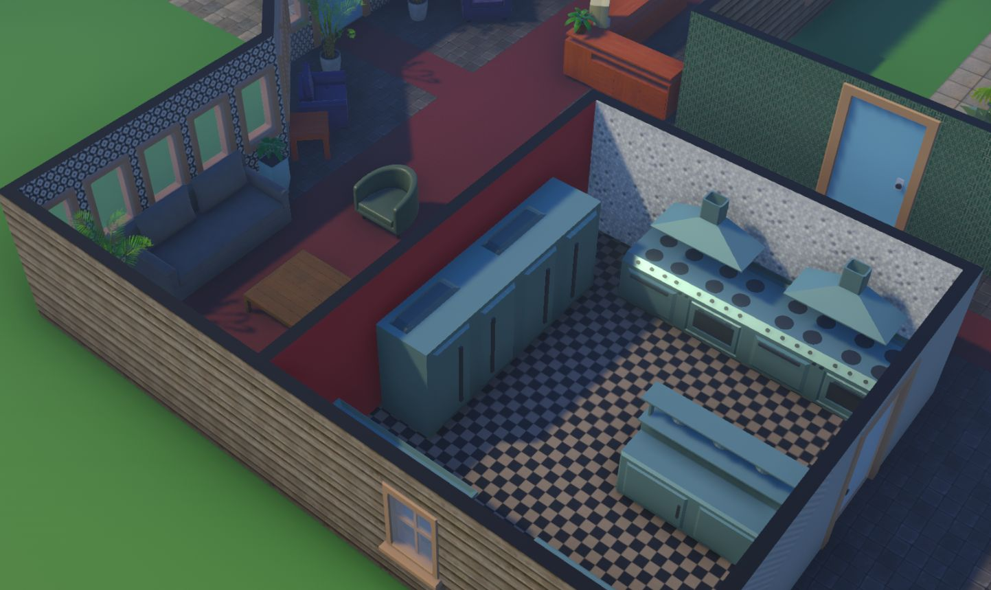 Hotel Simulator Kitchen