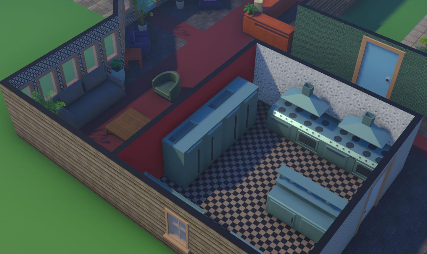 Hotel Simulator Kitchen