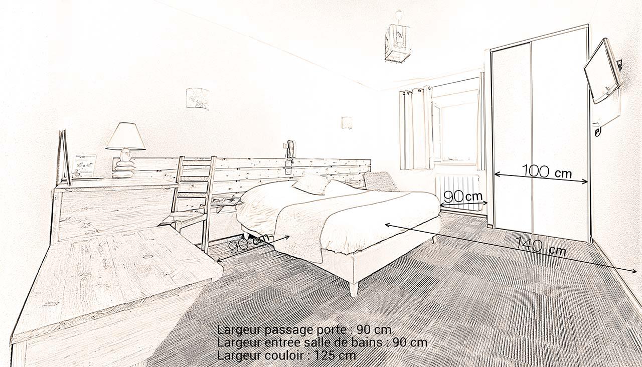 Hotel du Moulin de la Brevette  Nos chambres